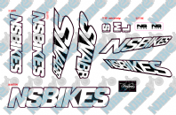 Ns Bikes Snabb Decal Kit